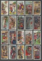 1912 Wills's Cigarettes Historic Events Tobacco Cards Complete Set of 50