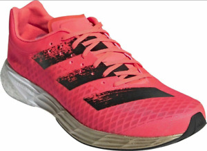 Adidas Mens Adizero Pro Running Shoes  Pink Trainers Size 6.5 new