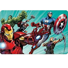 Set de table rectangulaire lenticulaire Avengers