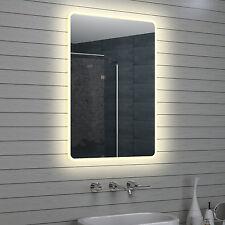 Design LED Badezimmerspiegel Badspiegel Wandspiegel Lichtspiegel 70x100cm M15710
