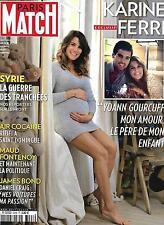 PARIS MATCH N°3468 5 NOVEMBRE 2015 KARINE FERRI/ GUERRE EN SYRIE/ 007 BOND/ HALL
