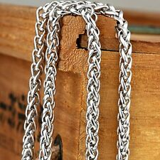 """Men's/Women's Rope Necklace Stainless Steel Chain 24""""Link Fashion Jewelry Gift"""