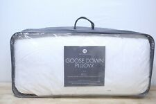 Hotel Collection KING Down Pillow European White Goose Medium Support A0X001