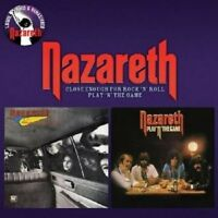 """NAZARETH """"CLOSE ENOUGH FOR ROCK'N'ROLL/PLAY..."""" CD NEW!"""