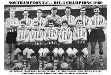 SOUTHAMPTON F.C. TEAM PRINT 1960 (DIVISION 3 CHAMPS)