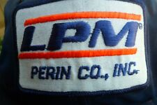 Trucker Style Vintage Snapback Nylon Blue Perin Co. LPM