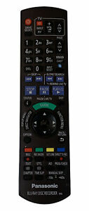 Panasonic Blu Ray Disc Recorder Remote Control N2QAYB000614 IR6 Tested Black