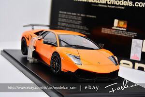 AUTOart 1:18 lamborghini LP670-4 SV orange