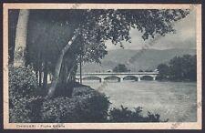 GENOVA CHIAVARI 146 PONTE Fiume ENTELLA Cartolina 1940