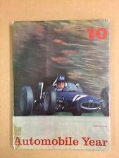 Automobile Year No.10 1962 - 1963
