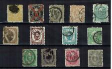 JAPAN 1873- 1888 COLLECTION  OF STAMPS      USED    SEE SCAN