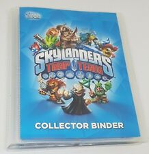 Skylanders Trap Team Collector Binder + 80 collectors cards inc limited edition