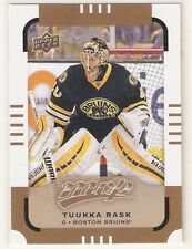 TUUKKA RASK 2015-16 UD MVP SP gold CARD #104 BRUINS