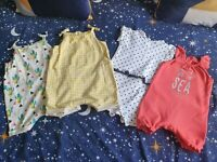 Baby Girls Summer Romper Outfit Bundle 3-6 Months