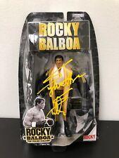 Sylvester Stallone Autographed ROCKY Jakks Action Figure ASI Proof