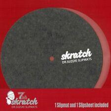 """Dr Suzuki 7"""" Skratch Slipmat & Slipsheet (one of each)"""