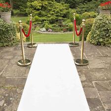 40x3 ft Wedding Aisle Runner White Non-Slip Floor Rug for Wedding Ceremony Party