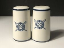 Vintage U.S. Life Saving Services/Coast Guard- Salt and Pepper Shakers