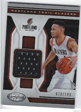 New listing EVAN TURNER 2018-19 PANINI CERTIFIED GAME USED JERSEY /149