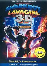 THE ADVENTURES OF SHARKBOY AND LAVAGIRL 3-D Movie POSTER 27x40 Turkish