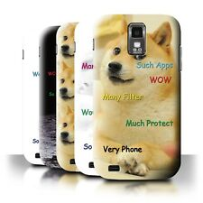 Back Case/Cover/Skin for Samsung Galaxy S2 Hercules/T989/Funny Shibe Doge Meme