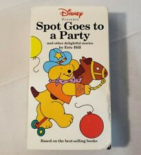 Spot Goes to a Party (VHS, 1998) - Walt Disney Presents Classic Tape