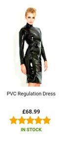 Honour Plus Size PVC Regulation Dress - Size 26
