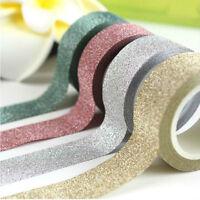 5M Glitter Self Adhesive Tape StickOn Sticky Craft Decorative Gift Wrap DIY-XMas