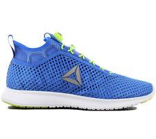 2fcf510b404 Reebok Mens Pump Plus Vortex Running Shoes Trainers Blue Size UK 8 EUR 42  US 9