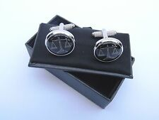 Spherical Cufflinks without Stone for Men