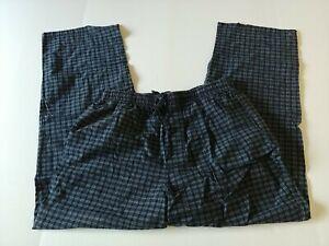 Long Lounge Pants - Medium - Color Blue - Corft & Barrow