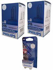 D1S PHILIPS WhiteVision 5000K Xenon +120% 2st. +W5W Bundle  85415WHV2C1