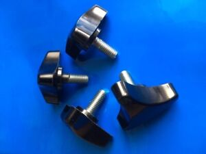 M10 Male Hand Wheel Knobs D 62mm/ Screw Thread:25mm Pack of 4