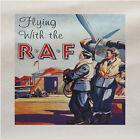 Volanti Con Il RAF World War Stampato Tessuto Panel Realizzare