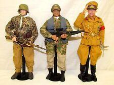 (3) Dragon DiD BBI 1/6 Scale WWII German Soldier Officer Commander w/ Gear FL540