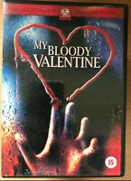 My Bloody Valentine DVD Original 1981 Canadiense Slasher Terror Película Clásica