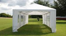 SAVE $$$ 12'x30' Wedding Party Tent Canopy with Metal Connectors - White