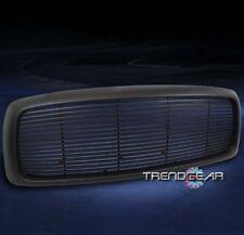 2002-2005 DODGE RAM 1500/2003+ 2500 3500 TRUCK FRONT UPPER HOOD GRILLE ABS BLACK