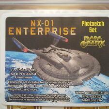Paragrafix 1/350 Star Trek Nx-01 Enterprise Photoetch Set Item # Pgx 176 F/S