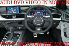 AUDI A1 A2 A3 A4 A5 A6 A7 DVD VIDEO IN MOTION SUPPLIED AND FITTED FROM £150