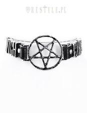 Restyle Witchcraft Emo Punk Goth Pentagram NuGoth Vegan Necklace Collar Choker