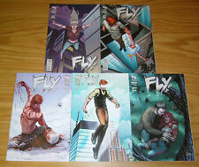 the Fly: the Fall #1-5 VF/NM complete series - zenescope comics bad girl 2 3 4