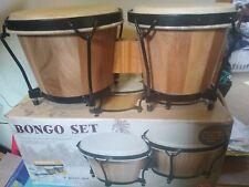More details for bongo drum set