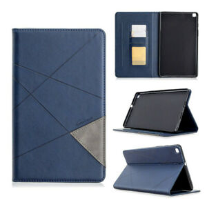 Retro Wallet Leather Flip Cover Case For Samsung Galaxy Tab T220 T860 T290 T580