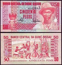 GUINEA BISSAU 50 Pesos 1990 UNC    P 10