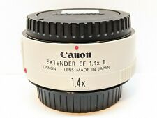 Canon EF 1.4X II Extender Telephoto Accessory - EXCELLENT CONDITION !!