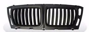 BMW 5 Series E34 1994-1995 Front Grille Grills Performance Style Matte Black