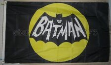 Batman 1960's TV Show 3'x5' Black & Yellow Flag Banner Joker Riddler USA Shipper