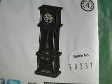 HORLOGE / GRANDFATHER CLOCK / DECOR / SCENERY ECH. 28MM SCALE 4G 022M