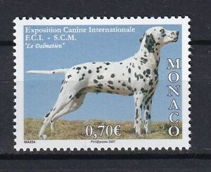 Monaco 2007 Animals, Pets, Dogs MNH stamp